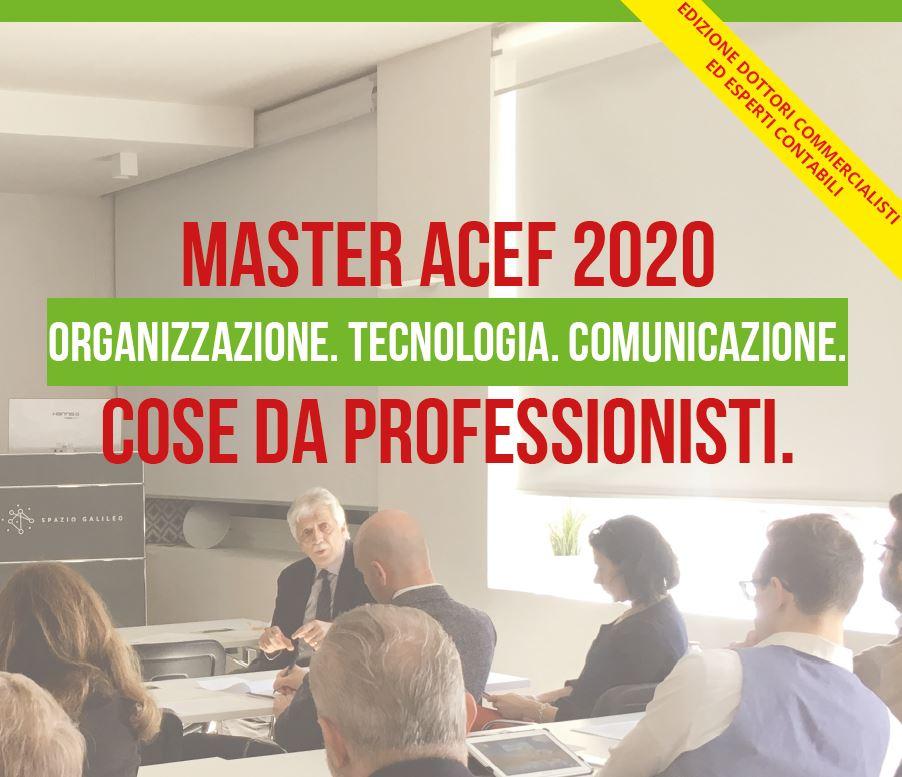 Master ACEF 2020