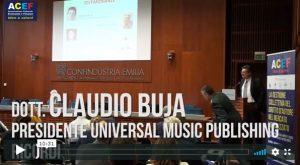 Testimonianze – Claudio Buja – Universal Music