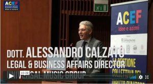 Testimonianze – Alessandro Calzato – Universal Music