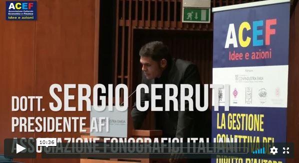 Testimonianze - Sergio Cerruti