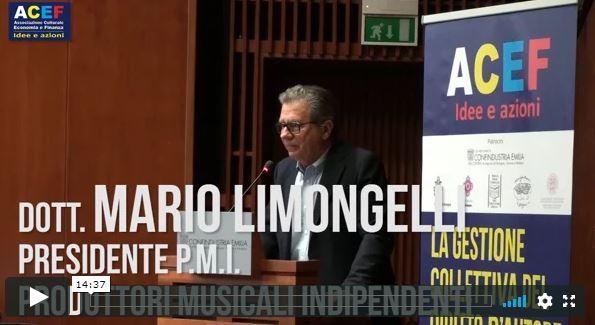 Testimonianze - Mario Limongelli