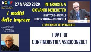 Intervista a Giovanni Benedetto – Confindustria Assoconsult