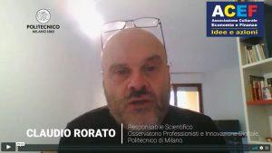 Intervista a Claudio Rorato – Politecnico di Milano