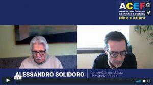 Intervista ad Alessandro Solidoro – Consiglio Nazionale Dottori Commercialisti ed Esperti Contabili