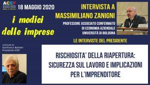 Nuova intervista a Massimiliano Zanigni – Università di Bologna