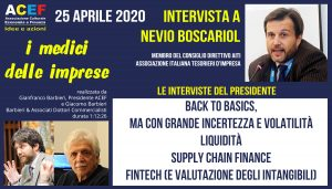 Intervista a Nevio Boscariol – AITI