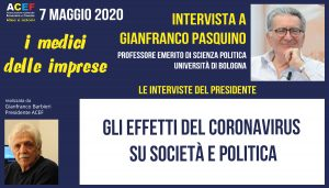 La seconda intervista a Gianfranco Pasquino – Università di Bologna