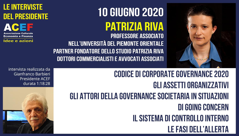 Intervista a Patrizia Riva – Università del Piemonte Orientale, Studio Patrizia Riva