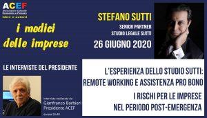 Intervista a Stefano Sutti – Studio Legale Sutti