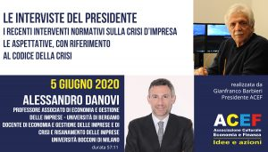 Intervista ad Alessandro Danovi – Università di Bergamo, Università Bocconi di Milano