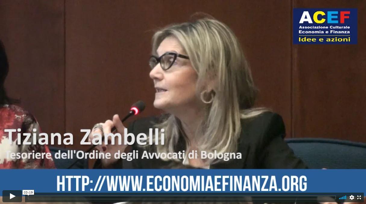 Al primo posto dev'essere il valore culturale dei beni – Avvocato Tiziana Zambelli