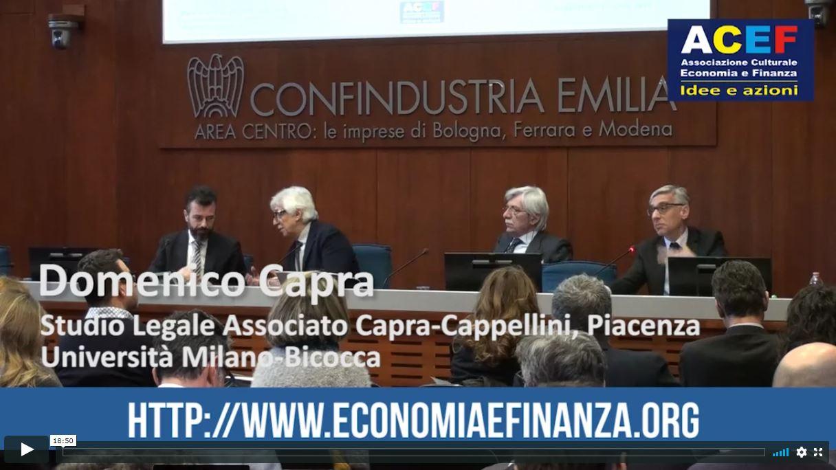 Beni culturali e diritti d'autore – Prof. Domenico Capra