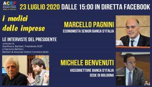 Intervista a Marcello Pagnini e Michele Benvenuti – Banca d'Italia