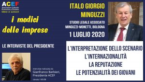 Intervista a Italo Giorgio Minguzzi – Studio Legale Minguzzi-Monetti