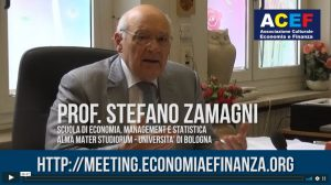 Intervista a Stefano Zamagni – Meeting ACEF 2018