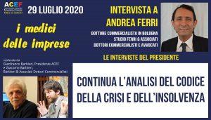 Intervista a Andrea Ferri – Dottore Commercialista in Bologna