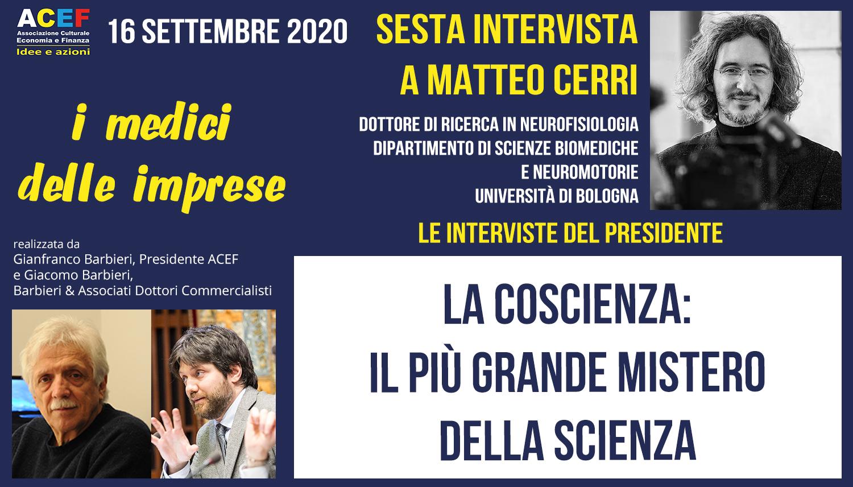 La coscienza: il più grande mistero della scienza – Intervista con Matteo Cerri