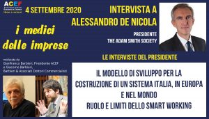 Intervista a Alessandro De Nicola – The Adam Smith Society