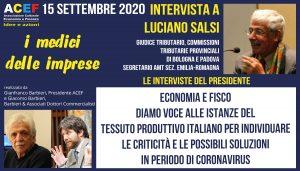 Intervista a Luciano Salsi – Economia e Fiscalità – Il progetto