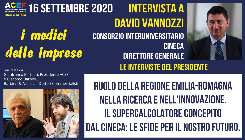Intervista a David Vannozzi – Direttore Generale CINECA