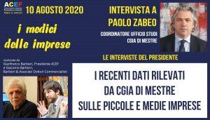 Intervista a Paolo Zabeo, CGIA Mestre
