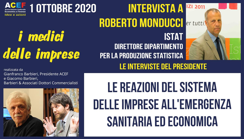 Intervista a Roberto Monducci – ISTAT