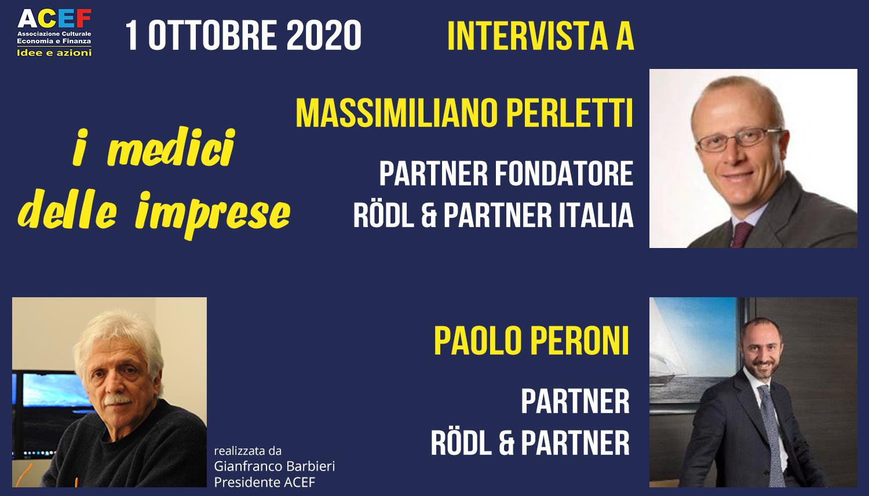 Intervista a Massimiliano Perletti e Paolo Peroni, Roedl & Partner