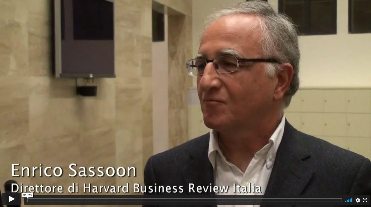 Intervista a Enrico Sassoon 2012 – Il valore della felicità