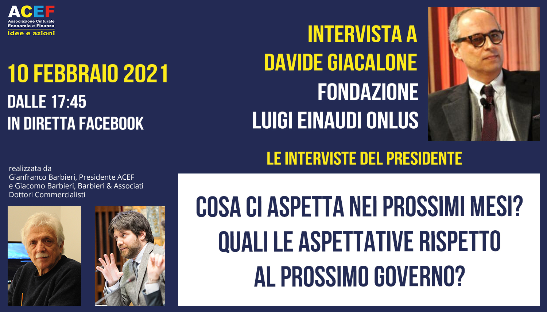 Seconda intervista a Davide Giacalone – Fondazione Luigi Einaudi ONLUS