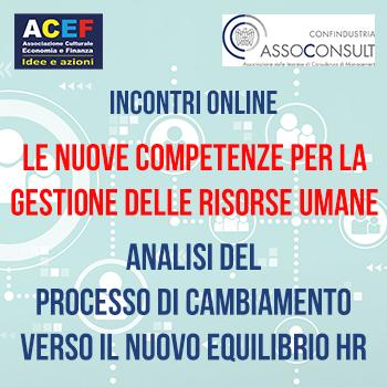 Le iniziative ACEF per affrontare la fase di rilancio - Autunno 2021 1