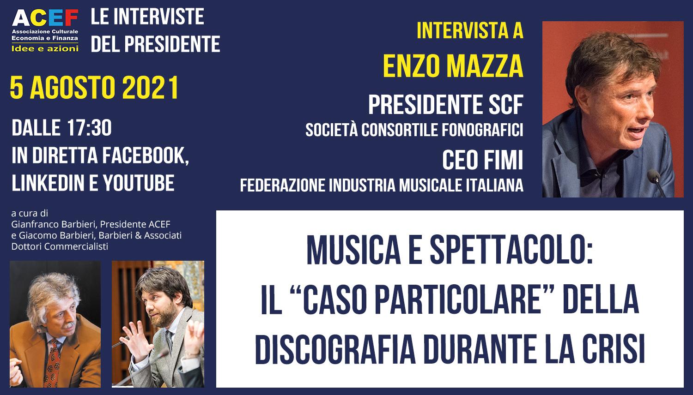 """Read more about the article Il """"caso particolare"""" della discografia durante la crisi. – ENZO MAZZA, 5/08/2021"""