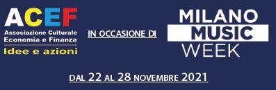 Read more about the article Milano Music Week 2021 – La partecipazione di ACEF e Barbieri & Associati – MMW 2021