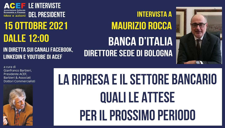Read more about the article La ripresa e il settore bancario – BANCA D'ITALIA – 15/10/2021